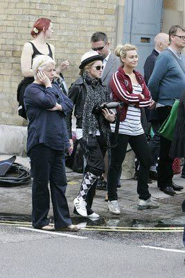 Madonna on the set of WE in London 20100808 017