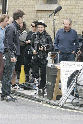 Madonna on the set of WE in London 20100808 018
