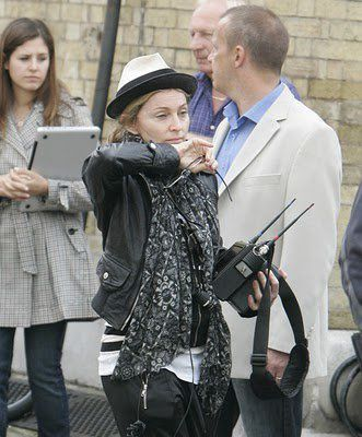 Madonna on the set of WE in London 20100808 019