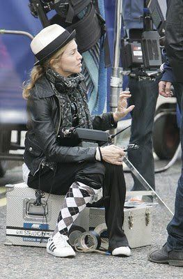 Madonna on the set of WE in London 20100808 027