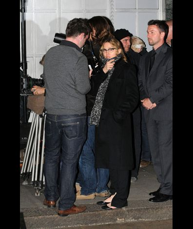 Madonna films WE in London 20100830 16