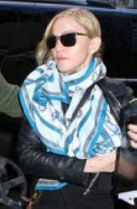 Madonna on the set of WE in NY 20100911 04