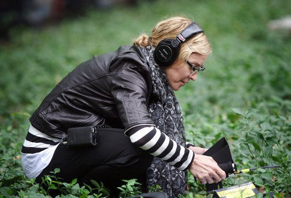 Madonna on the set of WE in NY 20100917 32