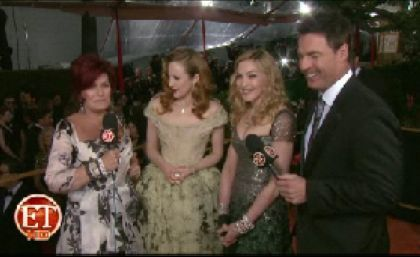 Madonna 2012 Golden Globe Awards 22 interview ET