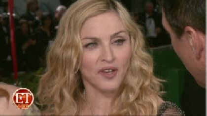 Madonna 2012 Golden Globe Awards 24 interview ET