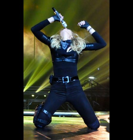 Madonna MDNA Tour Photos Dress Rehearsals 01