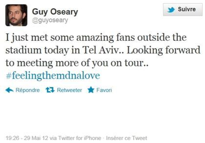 Madonna MDNA Tour Guy Oseary Feeling The MDNA Love