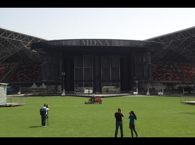 Madonna MDNA Tour Abu Dhabi stage 13