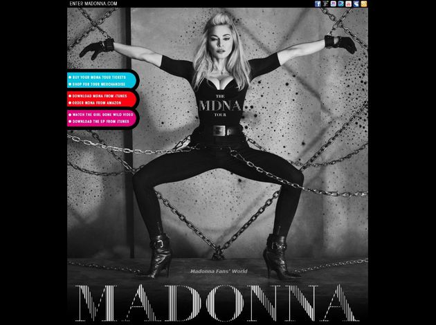 Madonna The MDNA Tour 4