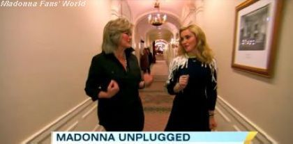 Madonna ABC interview Lady Gaga Born This Way 1
