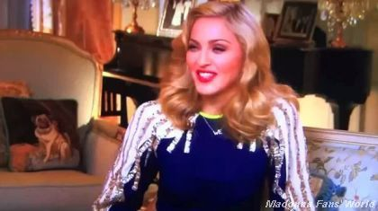 Madonna ABC interview Nightline by Cynthia McFadden 1