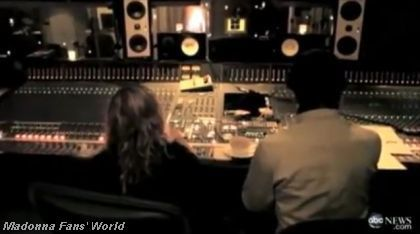 Madonna ABC interview in studio MIA Birthday Song 3