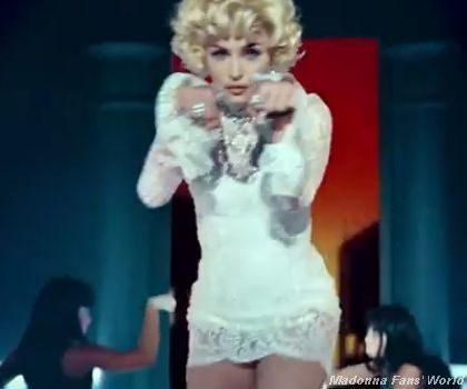 Madonna Give Me All Your Luvin' video 19