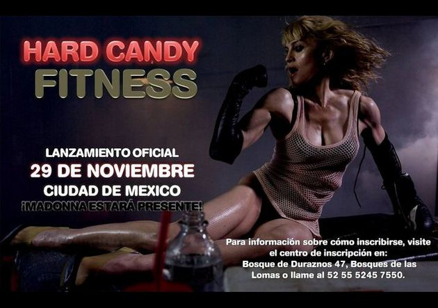 Madonna Hard Candy Fitness Mexico center launch 11