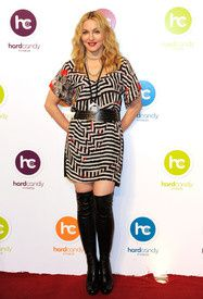 Madonna at Hard Candy Fitness Launch in Mexico City