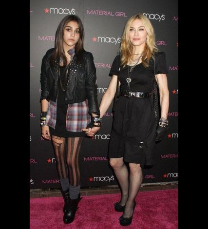 Madonna Material Girl launch party Macy's NY 20100922 022