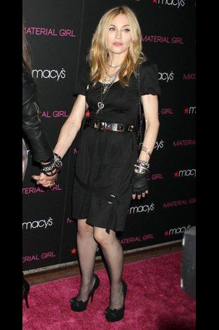 Madonna Material Girl launch party Macy's NY 20100922 073
