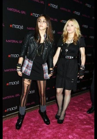 Madonna Material Girl launch party Macy's NY 20100922 084