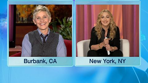 Madonna on The Ellen DeGeneres Show 20101109 05