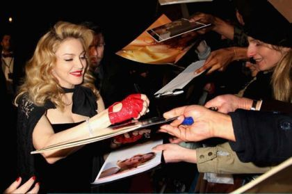 Madonna WE UK premiere London 20120111 21