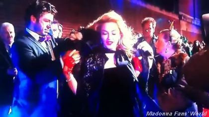 Madonna WE UK premiere London 20120111 interview 2