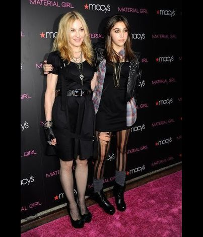 Madonna Material Girl launch party Macy's NY 20100922 062