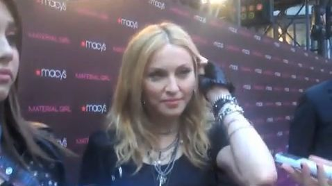Madonna and Lourdes talk outside Macy's Material Girl 01