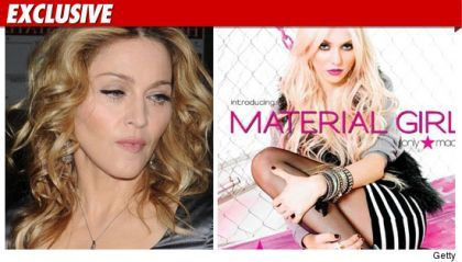 Madonna Accused of Material Girl Theft