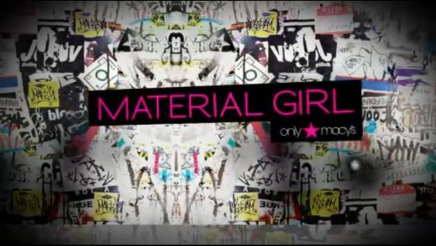 Madonna Material Girl Spring Collection 2011 video 1