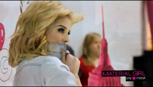 Madonna Material Girl Spring Collection 2011 video 3