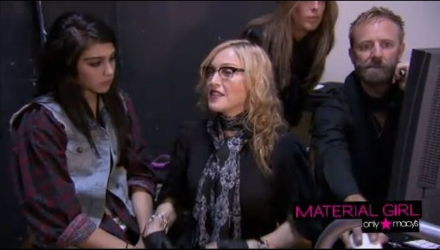 Madonna Material Girl Spring Collection 2011 video 4
