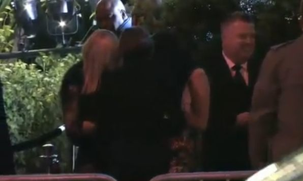 Madonna and Lourdes arrive at VF Oscars party 20110227 06