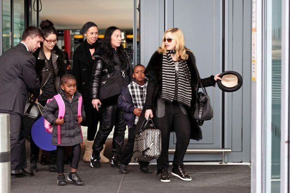Madonna arrives in London 20110403 10