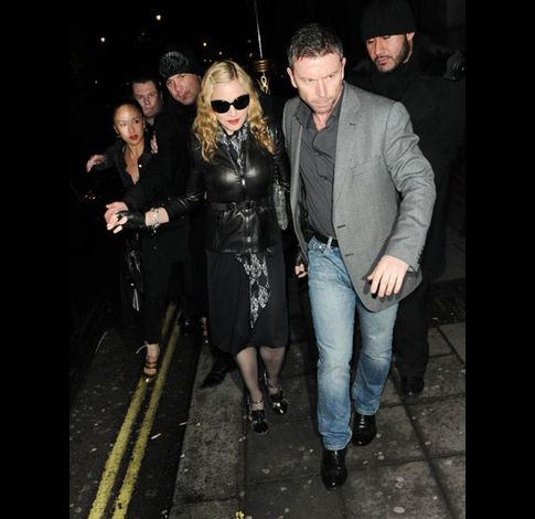 Madonna at Aura club in London 20110106 33