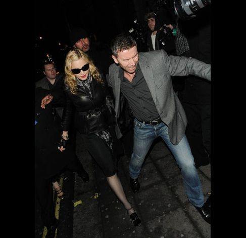 Madonna at Aura club in London 20110106 35