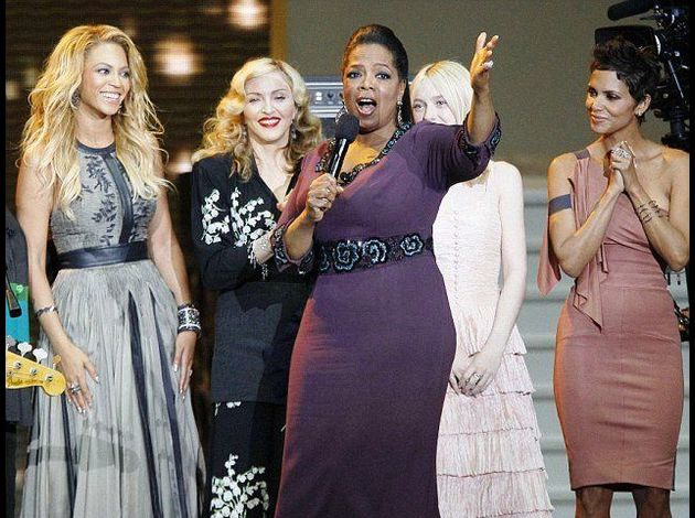 Madonna at Oprah Winfrey Final Show 20110517 11