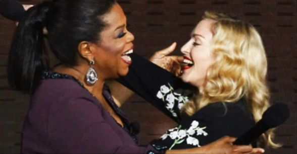 Madonna at Oprah Winfrey Final Show 20110517 video 05