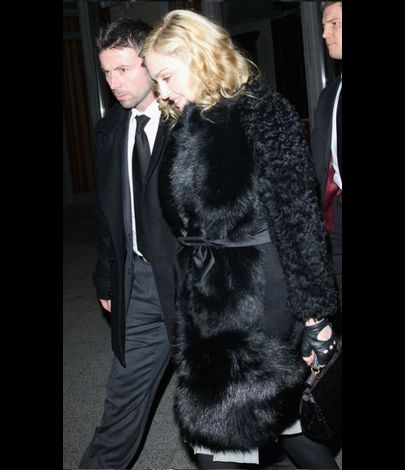 Madonna with Brahim Zaibat in Berlin 20110212 10