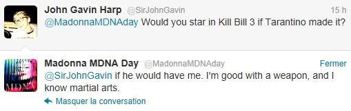 Madonna on Twitter MDNA Day 20120326 15 Tarantino