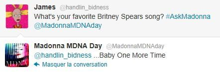 Madonna on Twitter MDNA Day 20120326 26 Britney Spears