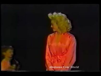 Madonna receives 2 Awards Japan TV 1990 01