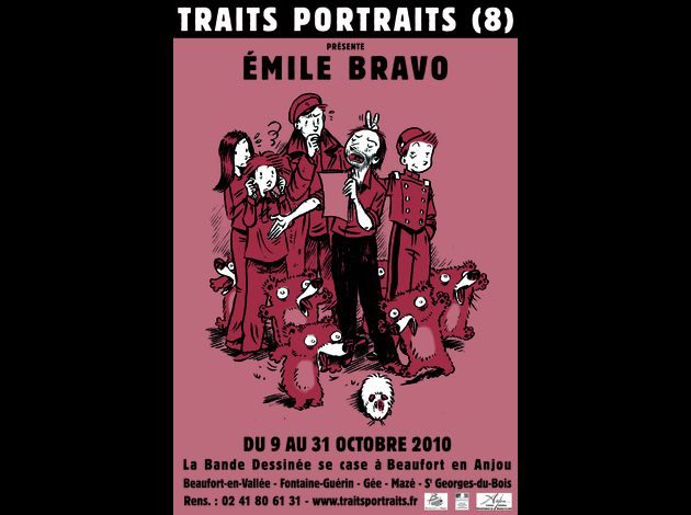 affiche 2010 Traits Portraits 8