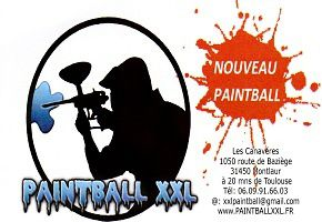Paint Ball XXL Montlaur Tl: 06 09 91 66 03 www.paintballxxl.fr