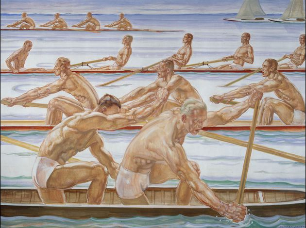 Albert Janesh, Water Sport, 1936