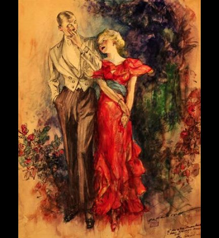 Henry P. Raleigh (1880-1944)-02-elegant-couple