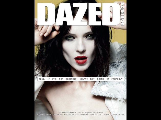 dazed4Kati Nescher shot by Daniel Jackson; styling by Karen