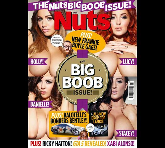 Nuts UK 20121123