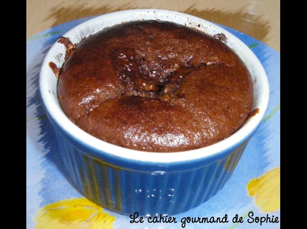 coulant chocopraliné