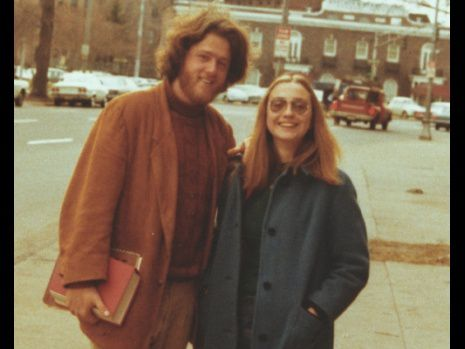 Bill et Hillary Clinton jeune