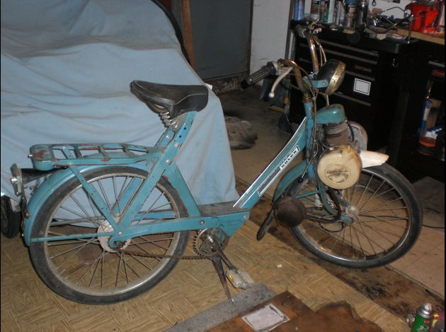 Reconditioning of a blue 1975 Solex model 4600 V2 CIMG1476